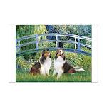Bridge / Two Shelties (D&L) Mini Poster Print