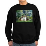 Bridge / Two Shelties (D&L) Sweatshirt (dark)