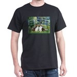 Bridge / Two Shelties (D&L) Dark T-Shirt