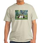 Bridge / Two Shelties (D&L) Light T-Shirt