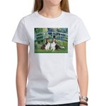 Bridge / Two Shelties (D&L) Women's T-Shirt