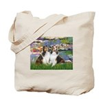 Lilies #2 / Two Shelties Tote Bag