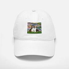 Lilies #2 / Two Shelties Baseball Baseball Cap