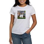 Lilies #2 / Two Shelties Women's T-Shirt