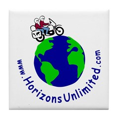 Horizons Unlimited Tile Coaster