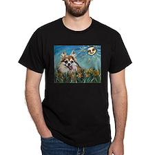 Portrait of Chihuahua Valenti T-Shirt