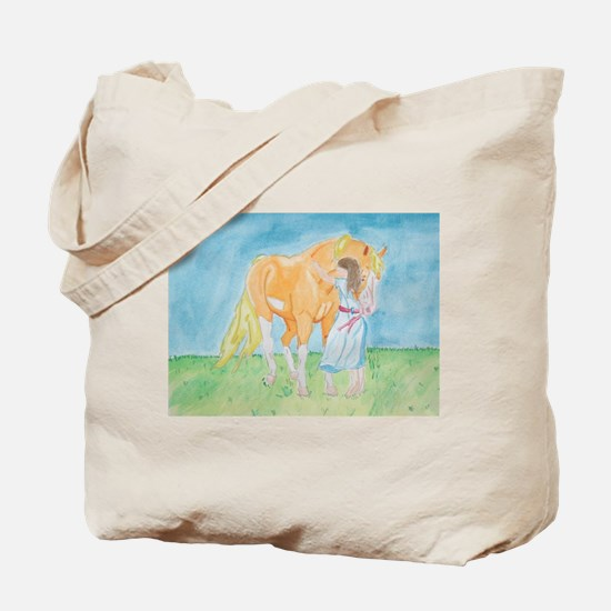 Pony Girl tote bag