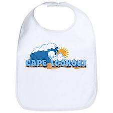 Cape Lookout NC - Waves Design Bib