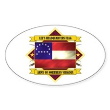 Lee's Headquarters Flag Decal