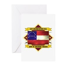 Lee's Headquarters Flag Greeting Cards (Pk of 10)