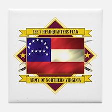 Lee's Headquarters Flag Tile Coaster