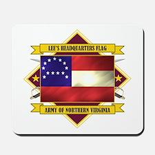 Lee's Headquarters Flag Mousepad