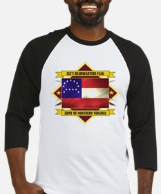 Lee's Headquarters Flag Baseball Jersey