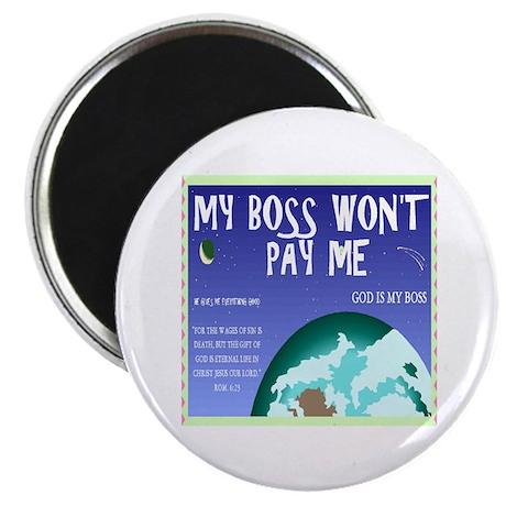 """Boss of All 2.25"""" Magnet (100 pack)"""