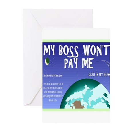 Boss of All Greeting Cards (Pk of 20)