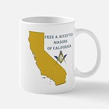 Republic of California Masons Mug