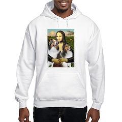 Mona Lisa / 2 Shelties (DL) Hoodie