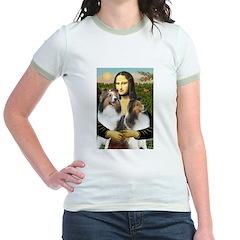 Mona Lisa / 2 Shelties (DL) T