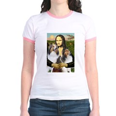 Mona Lisa / 2 Shelties (DL) T
