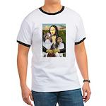 Mona Lisa / 2 Shelties (DL) Ringer T