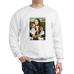 Mona Lisa / 2 Shelties (DL) Sweatshirt