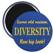 Same old racism Magnet