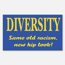 Same old racism Rectangle Decal