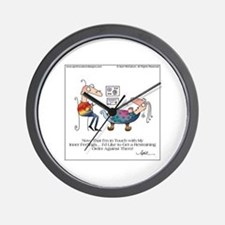 INNER FEELINGS by April McCallum Wall Clock