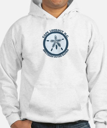 Cape Lookout NC - Sand Dollar Design Hoodie