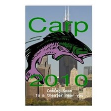 Carp Coming Soon Postcards (Package of 8)