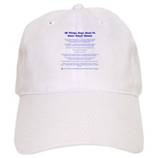10 Things About Women Baseball Cap