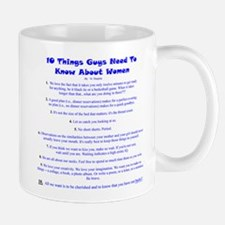 10 Things About Women Mug