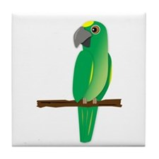 Amazon Parrot Tile Coaster