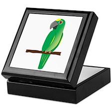 Amazon Parrot Keepsake Box