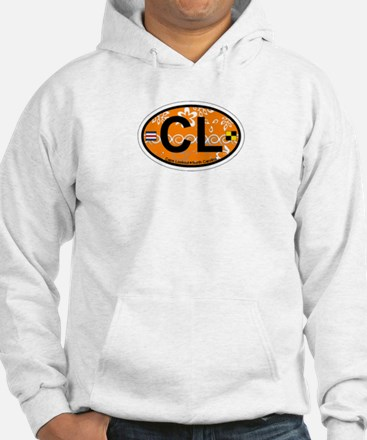Cape Lookout NC - Oval Design Hoodie