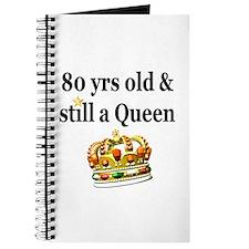 80 YEAR OLD QUEEN Journal