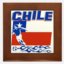 Chilean soccer Framed Tile
