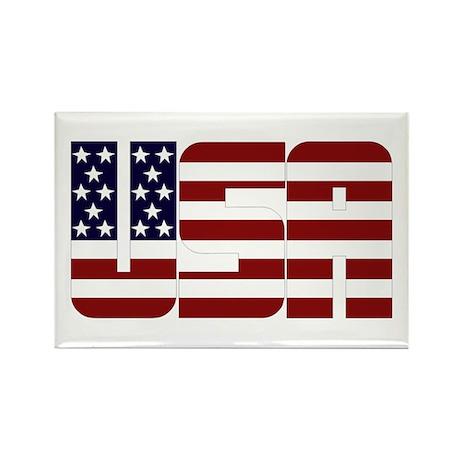 USA Rectangle Magnet