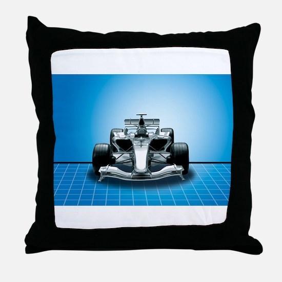 Ultimate Speed Machine - F1 Throw Pillow