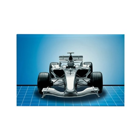 Ultimate Speed Machine - F1 Rectangle Magnet (100