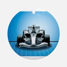 Ultimate Speed Machine - F1 Ornament (Round)