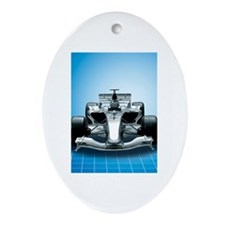 Ultimate Speed Machine - F1 Ornament (Oval)