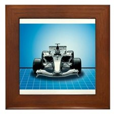Ultimate Speed Machine - F1 Framed Tile