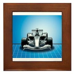 Ultimate Speed Machine - F1 Framed Tile
