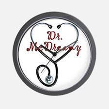 Dr. McDreamy Wall Clock
