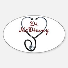 Dr. McDreamy Oval Decal
