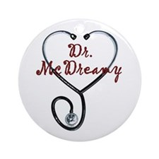 Dr. McDreamy Ornament (Round)