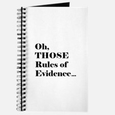 Rules of Evidence Journal
