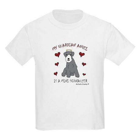 miniature schnauzer Kids Light T-Shirt