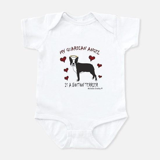 boston terrier Infant Bodysuit